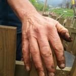 Nigel often has dirty hands