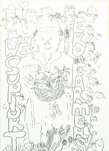 farmer drawing